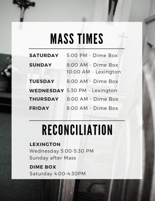 Mass Times (7)