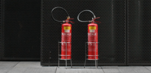 two Fire Extinguisher