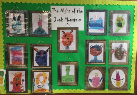Night of the Junk Monsters Portraits