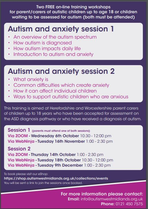 Autism Course 2