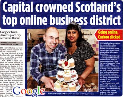 Successful Pr in Scotland