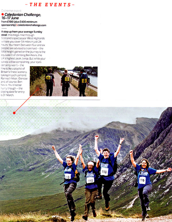 Caledonian Challenge Stuff magazine