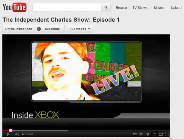 Youtube Independent Charles Show