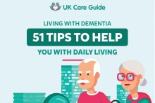 Care PR experts share infographic with 51 tips for lviing with demential