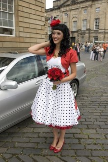Bride transformation deliveres dental PR