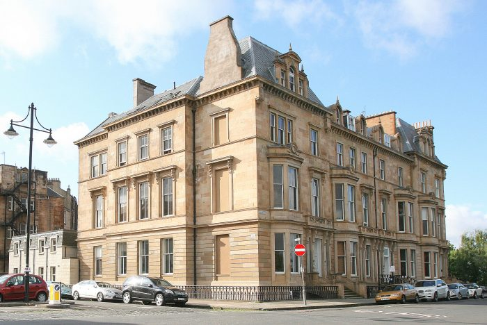 Scottish PR photography Park Terrace Edinburgh Citylets property success