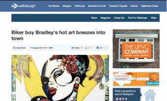 STV coverage of Breeze Galleries