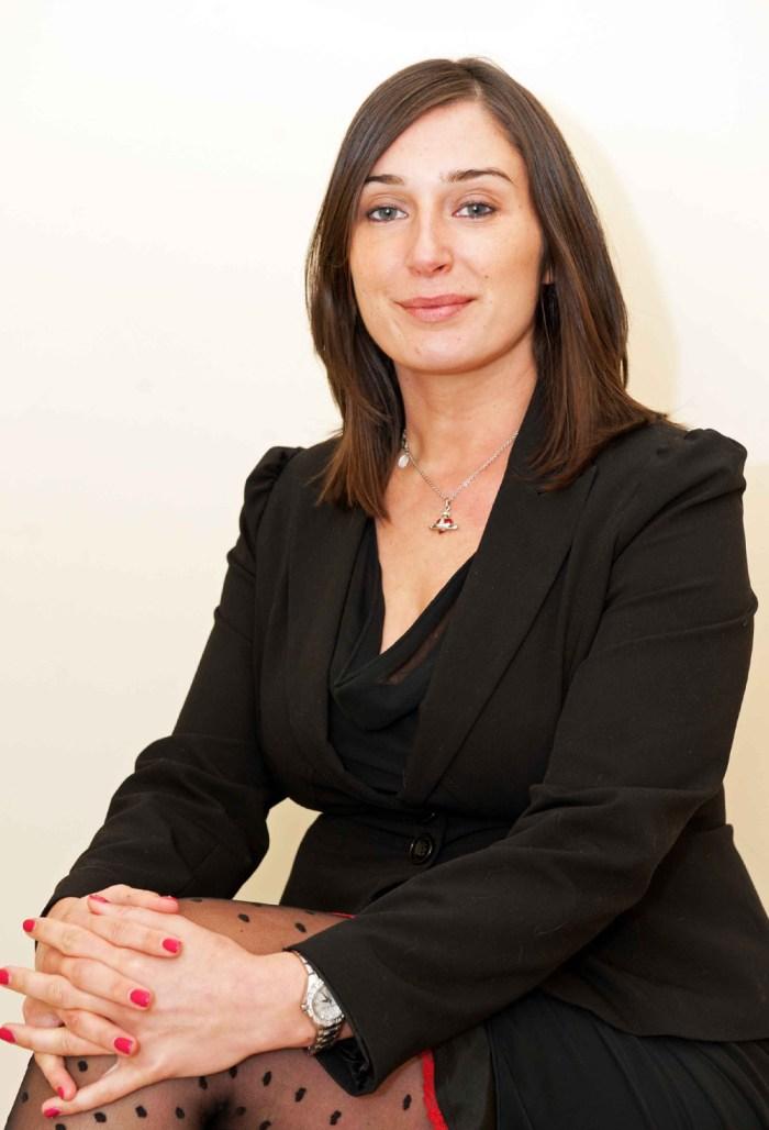 Scottish PR photography Charlotte McIntosh managing director of Roselle Events headshot