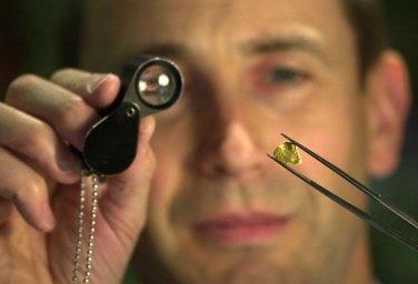 PR photo of jeweller and gemmologist Alistir Wood Tait