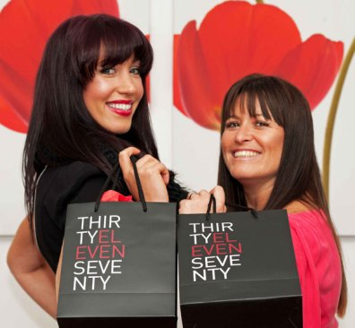Aimée Johnstone (left) and Joanna Daley celebrate the launch of new party planning service, Thirty Eleven Seventy. The company creates luxury events which help turn any special occasion into the ultimate celebration. Joanna Daley set up the company after a decade of success with her business Roselle, which specialises in corporate events.