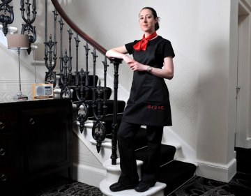 Edinburgh PR agency Holyrood Partnership arranged these PR photos for Michelin star restaurant staff
