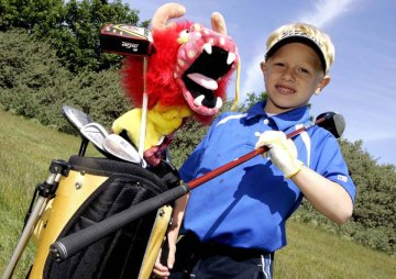 Edinburgh PR agency's photos of U.S. Kids golf tournament in Scotland