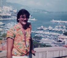 1982 Our man in Monaco while Interrailling round Europe
