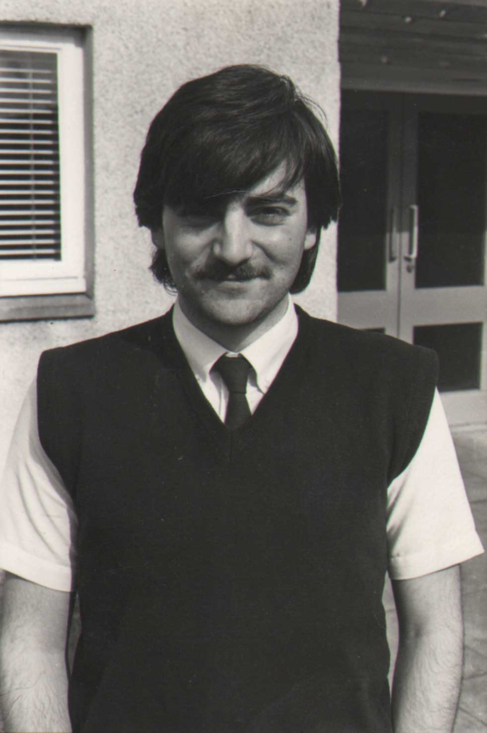 1984 First job. Junior reporter at the Livingston Post