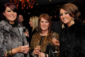 Pub and restaurant PR photos of VIP guests at Hyde Out launch party