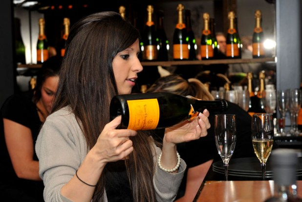Guest at VIP event, promoted by pub and restaurant PR experts