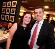 Edinburgh restaurant owner Tony Crolla with his wife