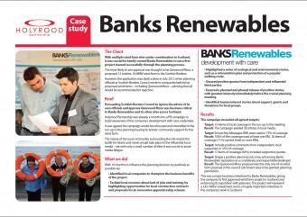 Banks Renewables case study