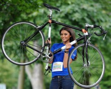 Bicycling-beauty