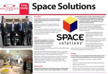 Space Solutions PR case study