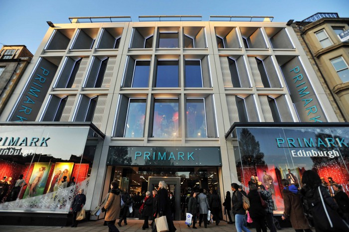 Public relations for launch of new Primark store in Scotland