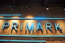 The sign outside Edinburgh Primark store