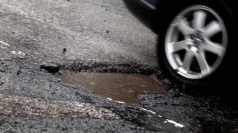 Pothole danger