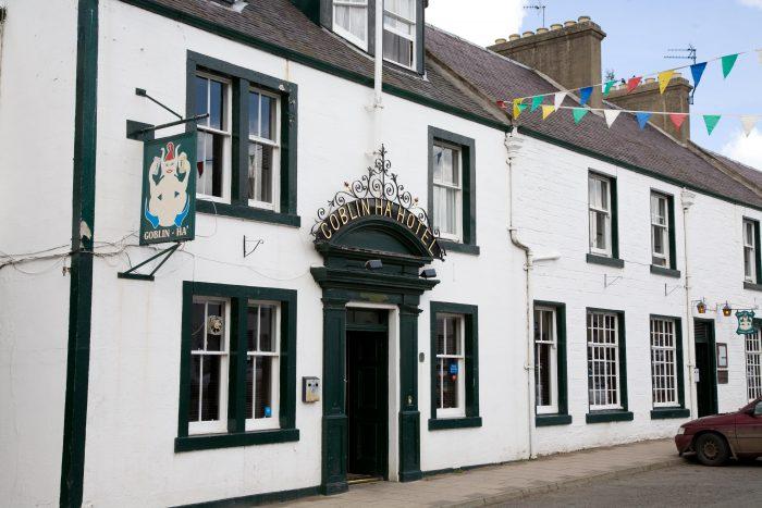 Scottish PR photography Goblin Ha Inn Gullane Unchained restaurants