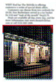 Edinburgh Evening News Melville Coverage