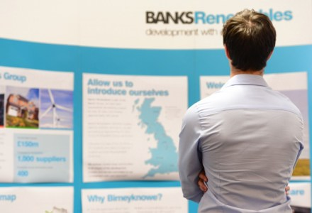 Public rrelations in scotland for banks renewables.