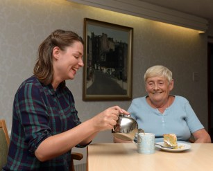 Care home residents have inspired a group of Fringe performers with stories of their experiences of moving into residential care.