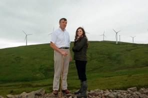 PR photos for sheepdog trials sponosored by Banks Renewables