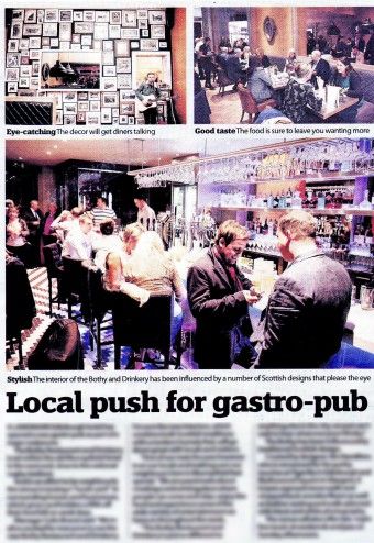 Coverage of the launch in Edinburgh Now