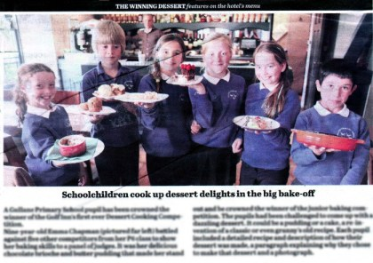 Just Desserts for these keen bakers at the Golf Inn