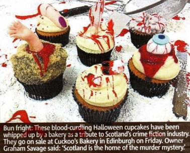 Cuckoo's Bakery in Metro newspaper