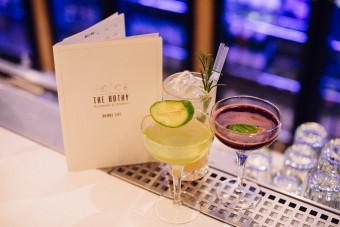 Garden Garnish Cocktails at The Bothy Restaurant & Drinkery