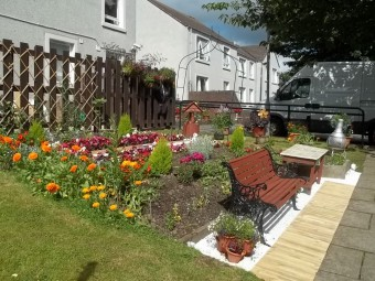 Thornhill Court's Beautiful Garden