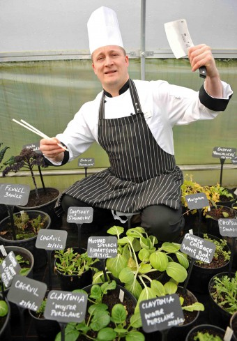 Head Chef at RBGE, Ben Harrison, is shortlisted for FSM award