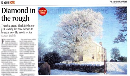 Old Ferintosh, a Bell Ingram property, has been featured in Your Home, a property in The Press And Journal