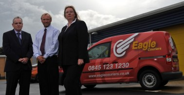 Bosses at Eagle Couriers, Scotland's largest independent courier firm, are calling for a radical improvements in the green vehicle sector to make them viable for business