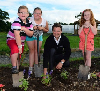 Netherthird Community Garden has already been supported by Banks Renewables.