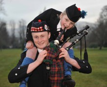 A successful PR campaign to promote bagpipes in schools