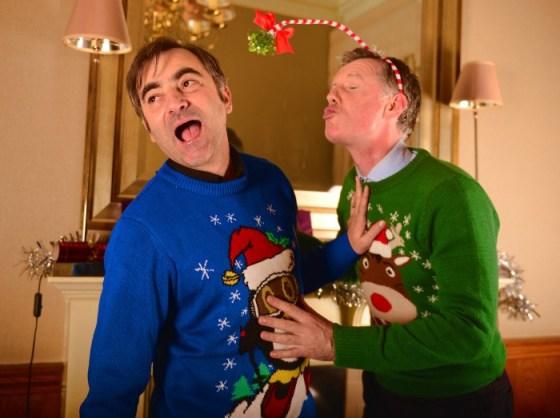 Holyrood PR in Edinburgh is spreading Christmas cheer this December