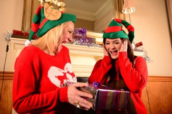 The team at Holyrood PR in Edinburgh has been getting into festive spirit