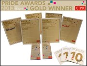 Multiple PR awards for Holyrood PR in 2013
