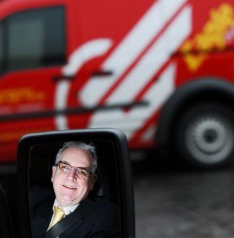 Boss of scotland's biggest independent courier company