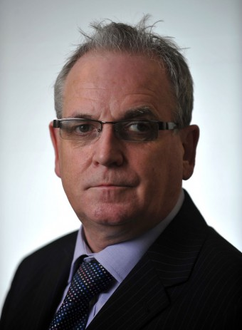 PR picture of Jerry Stewart, boss of Scotland's biggest independent courier company