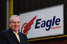 Jerry Stewart, boss of Scotland's biggest independent courier company