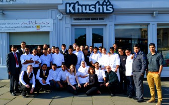 Edinburgh PR Agency's project work for Edinburgh restaurant Khushis