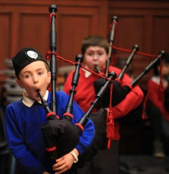 Scottish School Pipe Band Championships